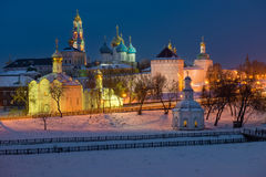 Holy Trinity St. Sergius Lavra Stock Photo
