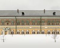 Holy Trinity St. Sergius Lavra in winter. royalty free stock photos