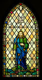 Holy Trinity Stained Glass Window Royalty Free Stock Photography