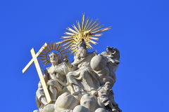 Holy Trinity statue Budapest royalty free stock photography