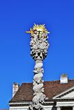 Holy Trinity statue Sopron. Holy Trinity statue  in Sopron, Hungary Royalty Free Stock Image
