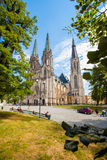 Holy Vaclav Cathedral in Olomouc, Czech Republic. Stock Photography