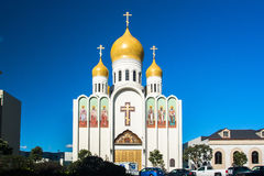 Holy Virgin Cathedral Royalty Free Stock Photos