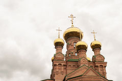 Holy Pokrovsky Monastery Royalty Free Stock Photography