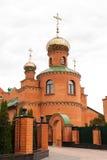 Holy Pokrovsky Monastery Stock Image