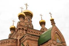 Holy Pokrovsky Monastery Stock Photos