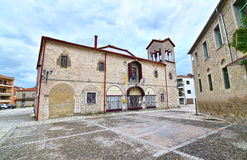 Holy Visitation church at the old city of Trikala Thessaly Greece Royalty Free Stock Photos