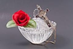 Holy Water In Crystal Jar