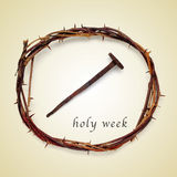 Holy week Royalty Free Stock Images