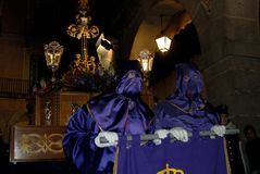 Holy week in Avila. Spain. The holy week in Avila. Spain stock images