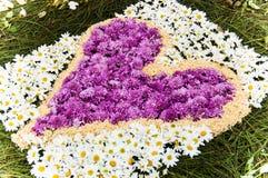 Holy Week carpet, Antigua, Guatemala Stock Photo