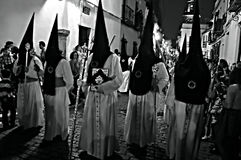 Holy Week celebrations 1. This is the celebartion of the Holy Week Place: Carmona (Seville) Spain Date: 21 March 2015 Event: Holy Week celebrations stock photo