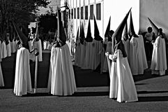 Holy Week celebrations 9. This is the celebration of the Holy Week Place: Carmona (Seville) Spain Date: 22 March 2015 Event: Holy Week celebrations stock image