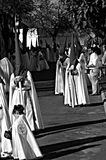 Holy Week celebrations 10. This is the celebration of the Holy Week Place: Carmona (Seville) Spain Date: 22 March 2015 Event: Holy Week celebrations stock image