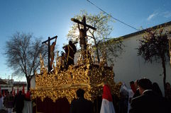 Holy Week celebrations 17. This is the celebration of the Holy Week Place: Carmona (Seville) Spain Date: 22 March 2015 Event: Holy Week celebrations royalty free stock photography