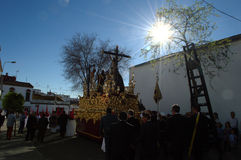 Holy Week celebrations 20. This is the celebration of the Holy Week Place: Carmona (Seville) Spain Date: 22 March 2015 Event: Holy Week celebrations royalty free stock photos