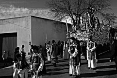 Holy Week celebrations 25. This is the celebration of the Holy Week Place: Carmona (Seville) Spain Date: 22 March 2015 Event: Holy Week celebrations stock photography
