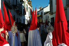 Holy Week celebrations 28. This is the celebration of the Holy Week Place: Carmona (Seville) Spain Date: 22 March 2015 Event: Holy Week celebrations stock images
