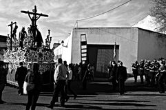 Holy Week celebrations 29. This is the celebration of the Holy Week Place: Carmona (Seville) Spain Date: 22 March 2015 Event: Holy Week celebrations royalty free stock photos