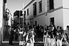 Holy Week celebrations 31. This is the celebration of the Holy Week Place: Carmona (Seville) Spain Date: 22 March 2015 Event: Holy Week celebrations stock photography