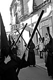 Holy Week celebrations 53. This is the celebration of the Holy Week Place: Carmona (Seville) Spain Date: 23 March 2015 Event: Holy Week celebrations royalty free stock photography