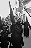 Holy Week celebrations 52. This is the celebration of the Holy Week Place: Carmona (Seville) Spain Date: 23 March 2015 Event: Holy Week celebrations royalty free stock images