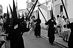 Holy Week celebrations 66. This is the celebration of the Holy Week Place: Carmona (Seville) Spain Date: 23 March 2015 Event: Holy Week celebrations royalty free stock photo