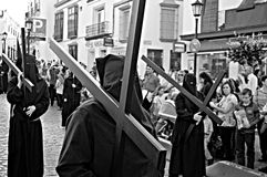 Holy Week celebrations 84. This is the celebration of the Holy Week Place: Carmona (Seville) Spain Date: 23 March 2015 Event: Holy Week celebrations stock images