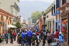 Holy week celebrations in Mexico. Holy week celebrations in San Cristobal de Las Casas, Mexico Royalty Free Stock Image