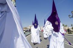 Holy Week en Seville Stock Images