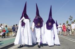 Holy Week en Seville Stock Photo