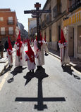 Holy week in Guadalajara - Spain Stock Photography