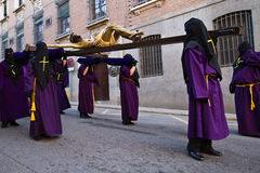 Holy week in Guadalajara - Spain Royalty Free Stock Photography
