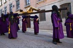 Holy week in Guadalajara - Spain. Procession - Holy week in Guadalajara - Spain royalty free stock photography