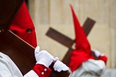 Holy week in Guadalajara - Spain. Procession - Holy week in Guadalajara - Spain royalty free stock photos