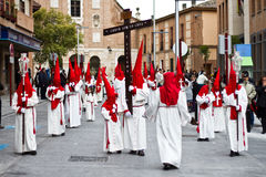 Holy week in Guadalajara - Spain Royalty Free Stock Photo