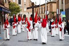 Holy week in Guadalajara - Spain. Procession - Holy week in Guadalajara - Spain royalty free stock photo