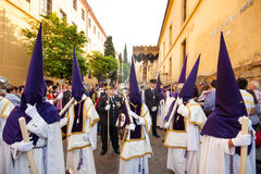 Holy Week In Cordoba, Andalusia, Spain. Stock Photography
