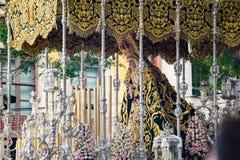 Holy week in Malaga, Spain. Royalty Free Stock Image