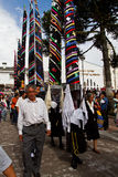 Holy week Mass of Glory in Alangasi, Ecuador Royalty Free Stock Images