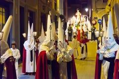 Holy Week in Murcia Stock Photos