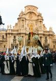 Holy Week in Murcia Royalty Free Stock Image