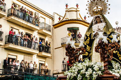 Holy week, Orgiva, Spain. Royalty Free Stock Image