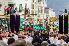 Holy week, Orgiva, Spain. Stock Photos