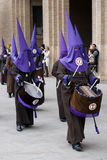 Holy Week procession Royalty Free Stock Photography