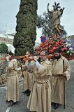 Holy week procession Stock Image