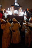 Holy week procession in Quito, Ecuador Stock Image
