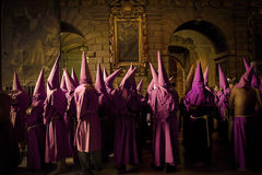 Holy week procession in Quito, Ecuador Royalty Free Stock Photos