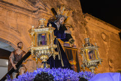 Holy week procession in Spain, Andalusia. Stock Photography