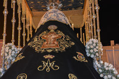 Holy week procession in Spain, Andalusia. Stock Images